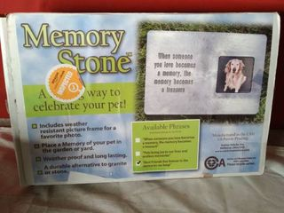 Memory Stone For Your Pet