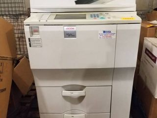 Ricoh Aficio MP 7500 Copier Used Fully Functioning when removed from service