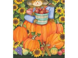 Toland Home Garden Scarecrow Harvest Flag
