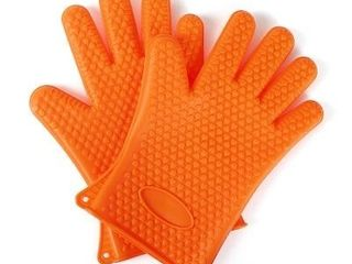 le Juvo Silicone Gloves Orange