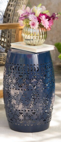 Ruby Outdoor 12 inch Round End Table