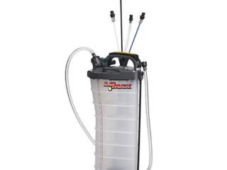 Lumax 2.6 Gal. (10 l) Capacity Manual / Pneumatic 2-in-1 Fluid Extractor