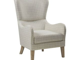 Madison Park Leda Swoop Wing Chair- Retail:$342.99
