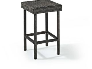 Palm Harbor Outdoor Wicker Counter Height Stool  Set Of 2  Retail 112 49