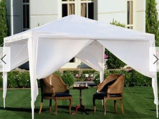 10x10ft Outdoor Gazebos Wedding Party Canopy Tent