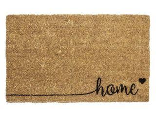 Entryways Home Handwoven Coconut Fiber Door Mat