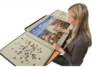 Jumbo   Portapuzzle Standard Jigsaw Puzzle Board   1500 pieces