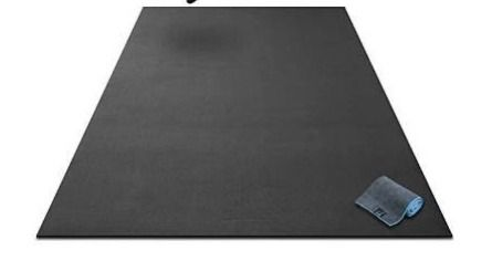 Premium Extra large Exercise Mat   7  x 5  x 1 4  Ultra Durable  Non Slip  Workout Mats for Home Gym Flooring   Jump  Cardio  MMA Mat   Use with or Without Shoes  84  long x 60  Wide x 6mm Thick