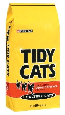 Purina Tidy Cats Non Clumping Cat litter  24 7 Performance Multi Cat litter    4  10 lb  Bags