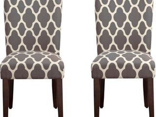 HomePop Parsons Dining Chair  Multiple Colors 1 CHAIR