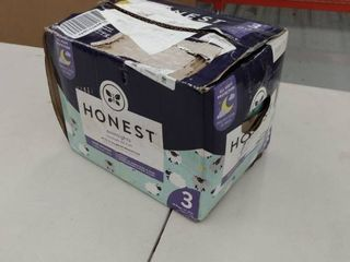 Box of Honest Diapers  Size 3