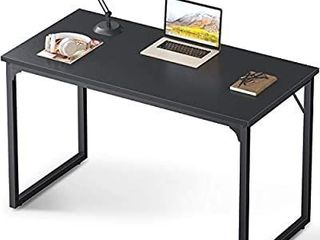 Coleshome Computer Desk 47  Modern Simple Style Desk for Home Office  Sturdy Writing Desk COlOR MAY VARY FROM STOCK PHOTO