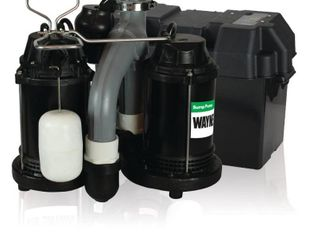 Wayne WSS30VN Upgraded Combination 1 2 HP and 12 Volt Battery Back Up System