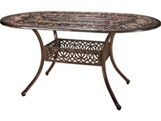 Christopher Knight Shiny Copper outdoor table