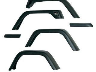 Rugged Ridge 7  Wide Fender Flare   6 Pieces