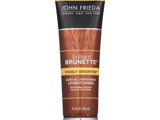 John Frieda Brilliant Brunette Visibly Brighter Conditioner   8 3oz