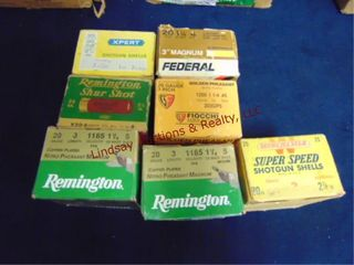 6   full boxes   1   partial box of mixed brands
