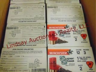 8   boxes Winchester 12 ga 3  2 shot  See pics for