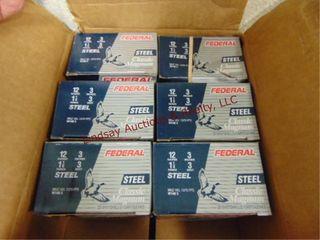 6   boxes Federal 12 ga 3  3 shot  See pics for