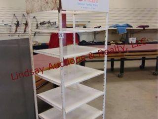 Metal adj shelf for ammo storage 30 x25 x83