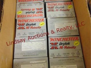 1 case  10 boxes  Winchester 12 ga 3  2 shot  See