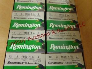 1 case  10 boxes  Remington 12 ga 3  2 shot  See