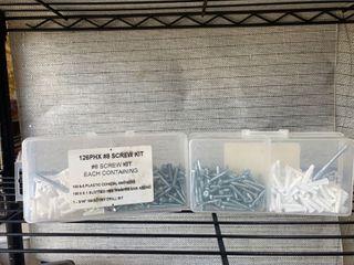 8 screw kit