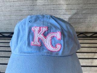 KC baseball hat ladies