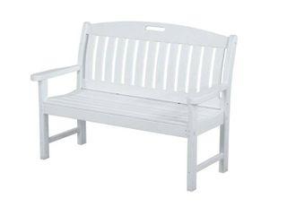 POlYWOOD Nautical 48  Bench  Retail 599 00
