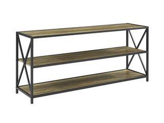 Carbon loft Hattie 60 inch X frame Bookshelf  Retail 183 99