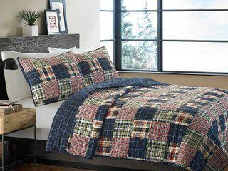 Eddie Bauer Madrona Cotton Quilt Set  Retail 84 18