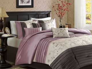 Madison Park Belle Purple Comforter Set  Retail 122 19