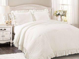 lush Decor Reyna 3 Piece Comforter Set  Retail 153 99