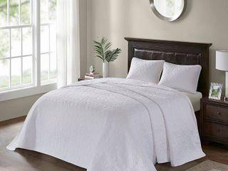 Madison Park Mansfield Reversible Bedspread Set  Retail 119 99