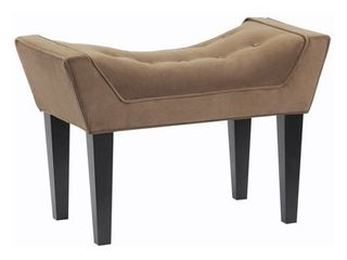 Maddie Button Tufted Single Bench  Retail 167 99
