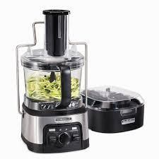 Hamilton Beach Professional 12 Cup Spiralizing Stack   Snap Food Processor  Retail 129 99