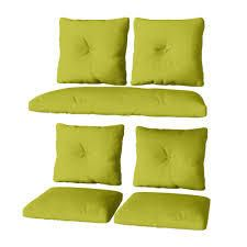 corliving pillows set of 4 green