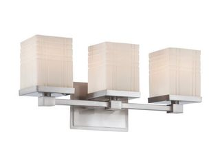 lite Source Benicio 3 light Vanity  Retail 95 99