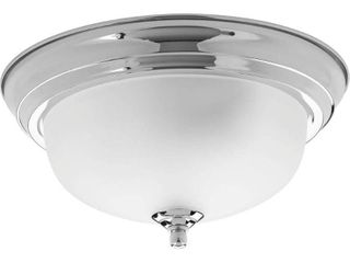 Progress lighting P3924 15et Dome Glass 1 light Flush Mount