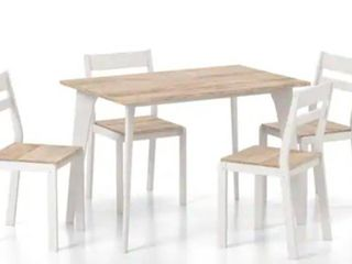 Furniture of America Jymi Transitional 5 piece Dining Table Set