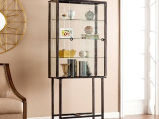 Metal Glass Sliding Door Display Cabinet