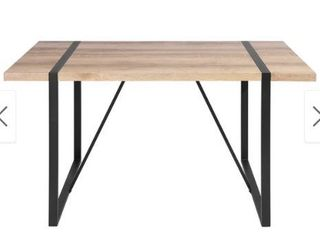 Carbon loft Carmen High Gloss Brown Extra large Dining Table  Retail 280 99