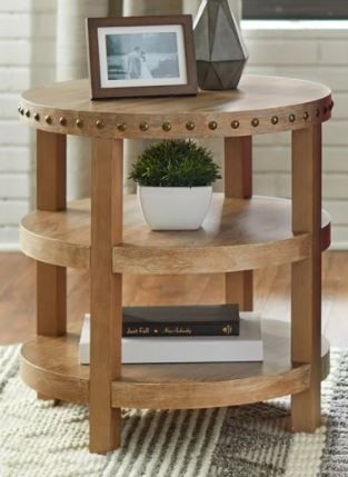 Simple living Upland End Table  Retail 149 99