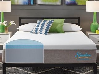 Slumber Solutions Essentials 10 inch Memory Foam TWIN Mattress   White Retail 241 49