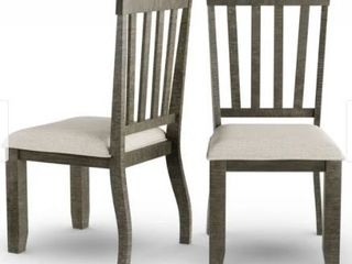The Gray Barn Rock Cottage Dining Chair  Set of 2  Retail 199 49