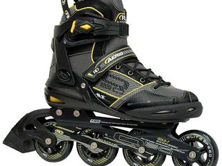 Roller Derby Men s Aerio Q 60 Inline Skates   Black Yellow  12
