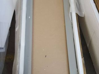 Wall mounted Ironing Board and Storage Center Mirror Needs Replaced  Retail 173 99