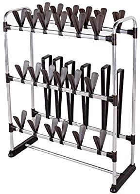 StorageManiac 24 Shoes and 3 Boots Rack  Multifunctional Boots Organizer and Shoes Organizer