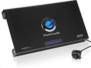 Planet Audio AC5000 1D Class D Car Amplifier   5000 Watts Max Power