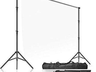 limoStudio Photo Video Studio 10  x 9 4   W x H  Adjustable Muslin Backdrop Stands